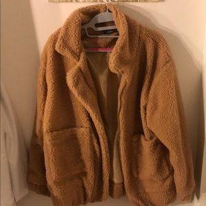 Zaful Honey Teddy Bear Jacket